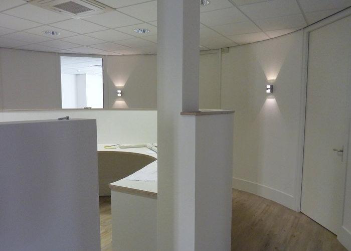 Verbouwing kantoor - P & E Installatietechniek Zaandam