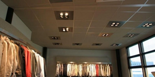 P & E Installatietechniek - Verlichting showroom